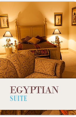 Egyptian Theme Hotel Suite
