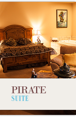 Pirate Theme Hotel Suite